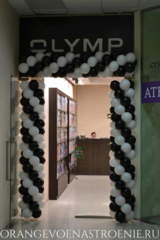 """Магазин """"Olymp"""" в ТЦ """"In Cube"""". Шары от компании """"Оранжевое настроение"""""""